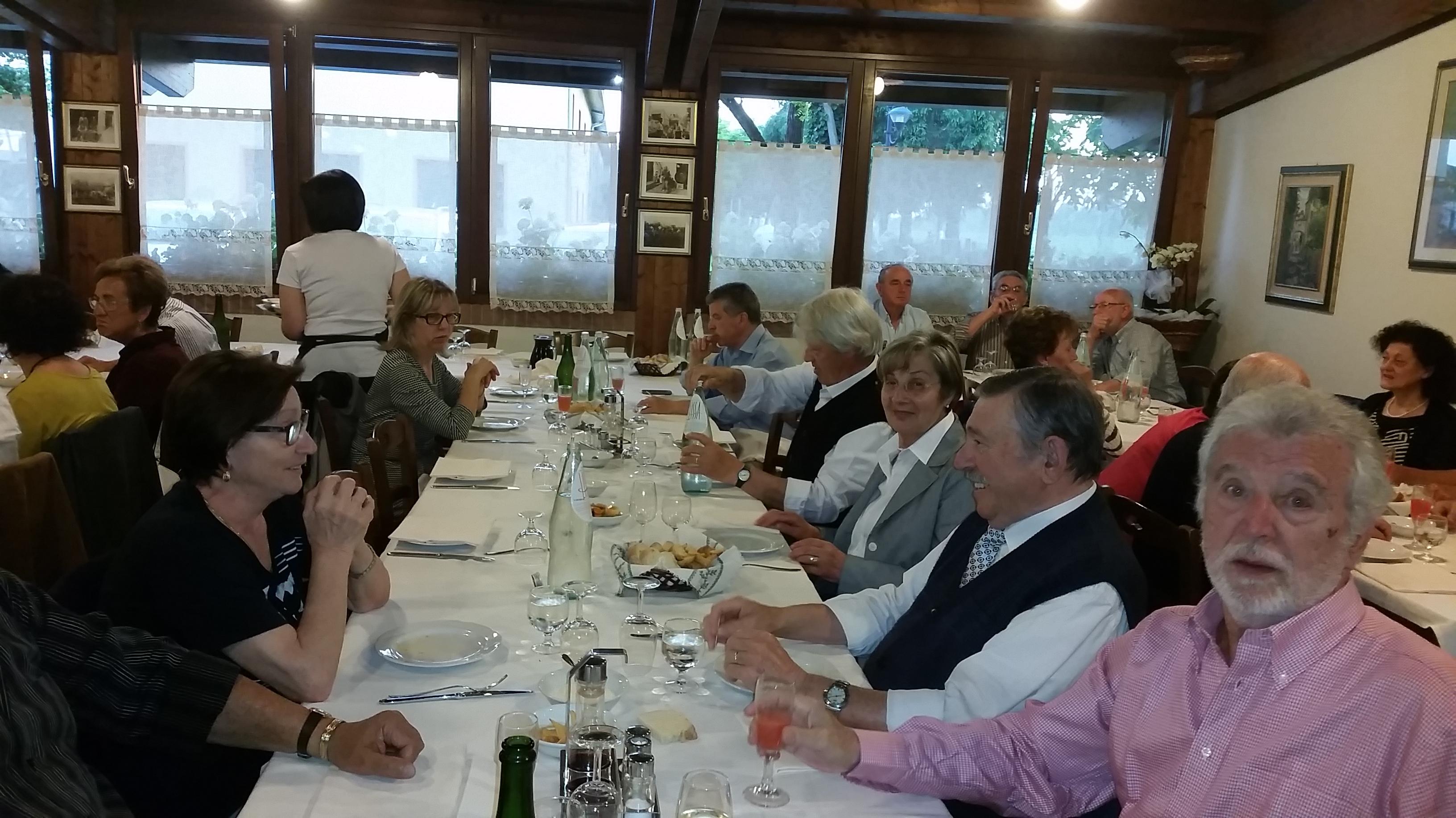 Cena Sociale presso l'Agriturismo Ferraro