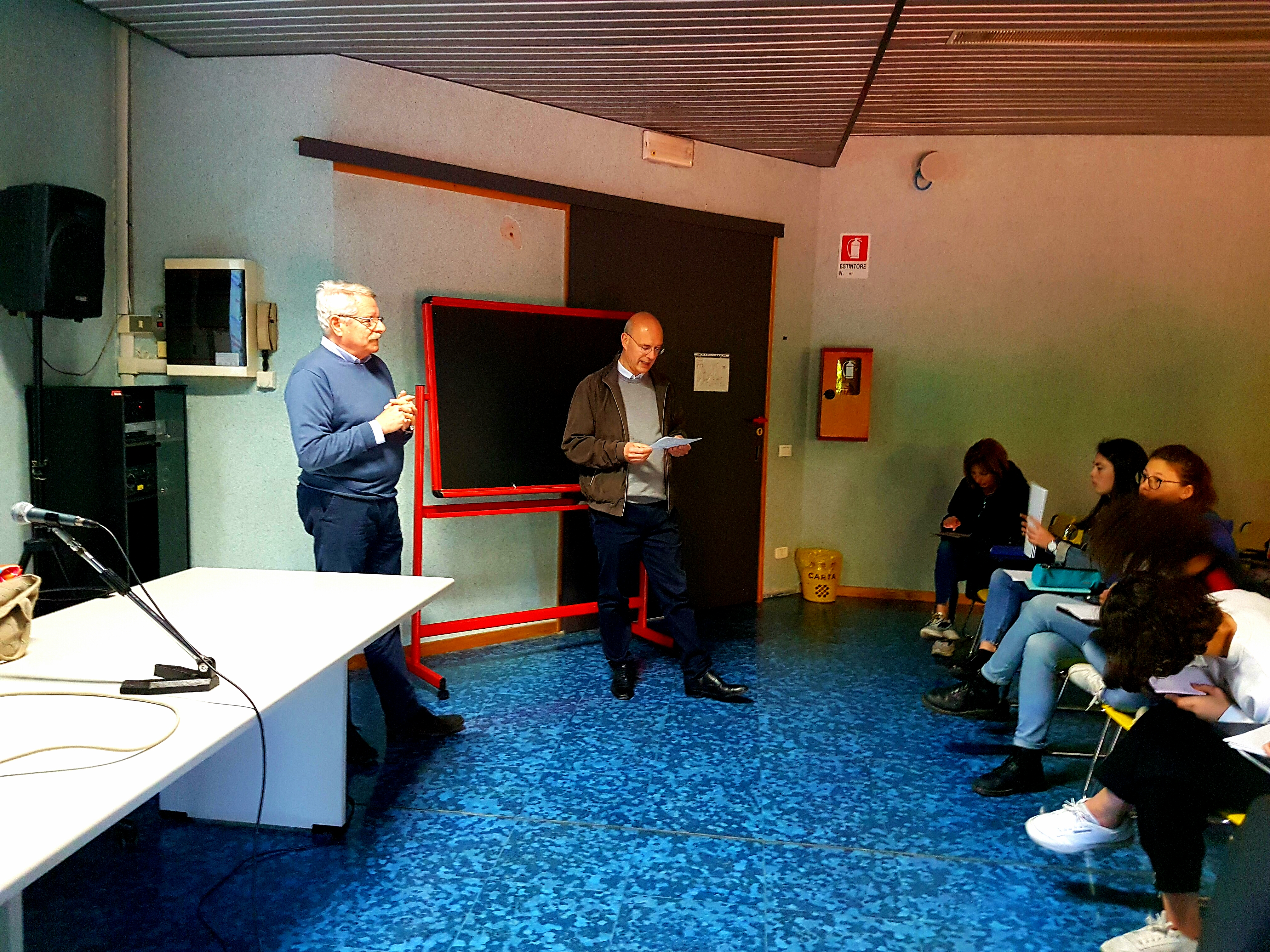 Liceo Giorgione 17 aprile 2019