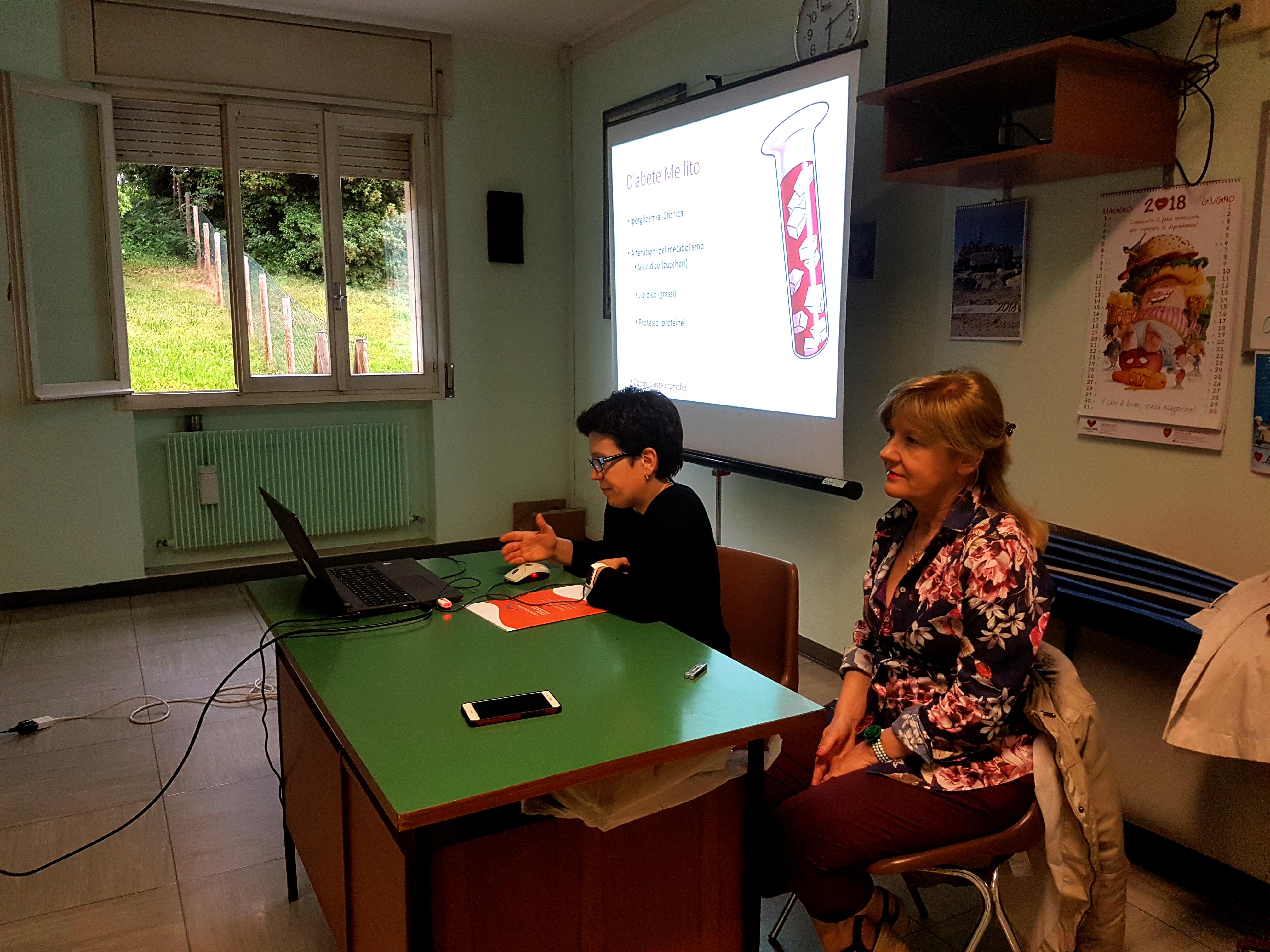 8 maggio 2018 - dott.ssa Paola Zanco e dott.ssa Alessandra Cosma