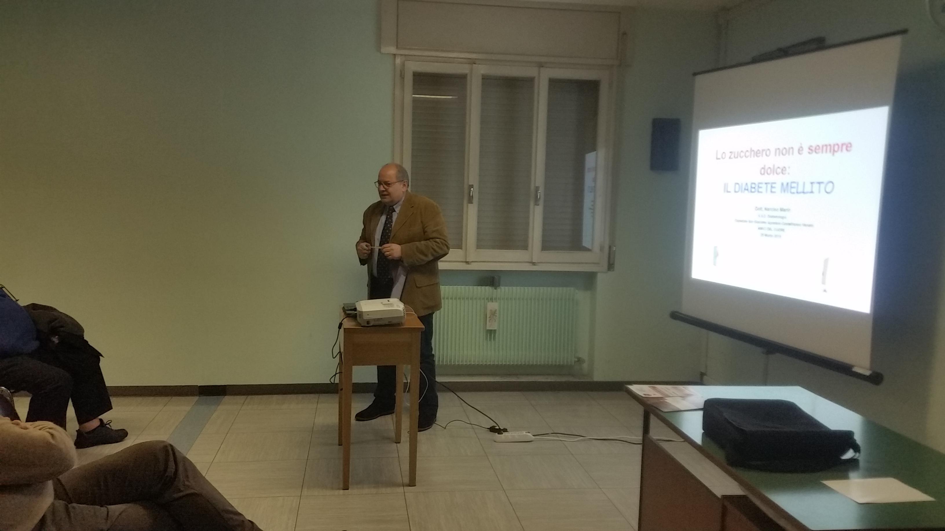 25 marzo - conferenza del dr. Narciso Marin