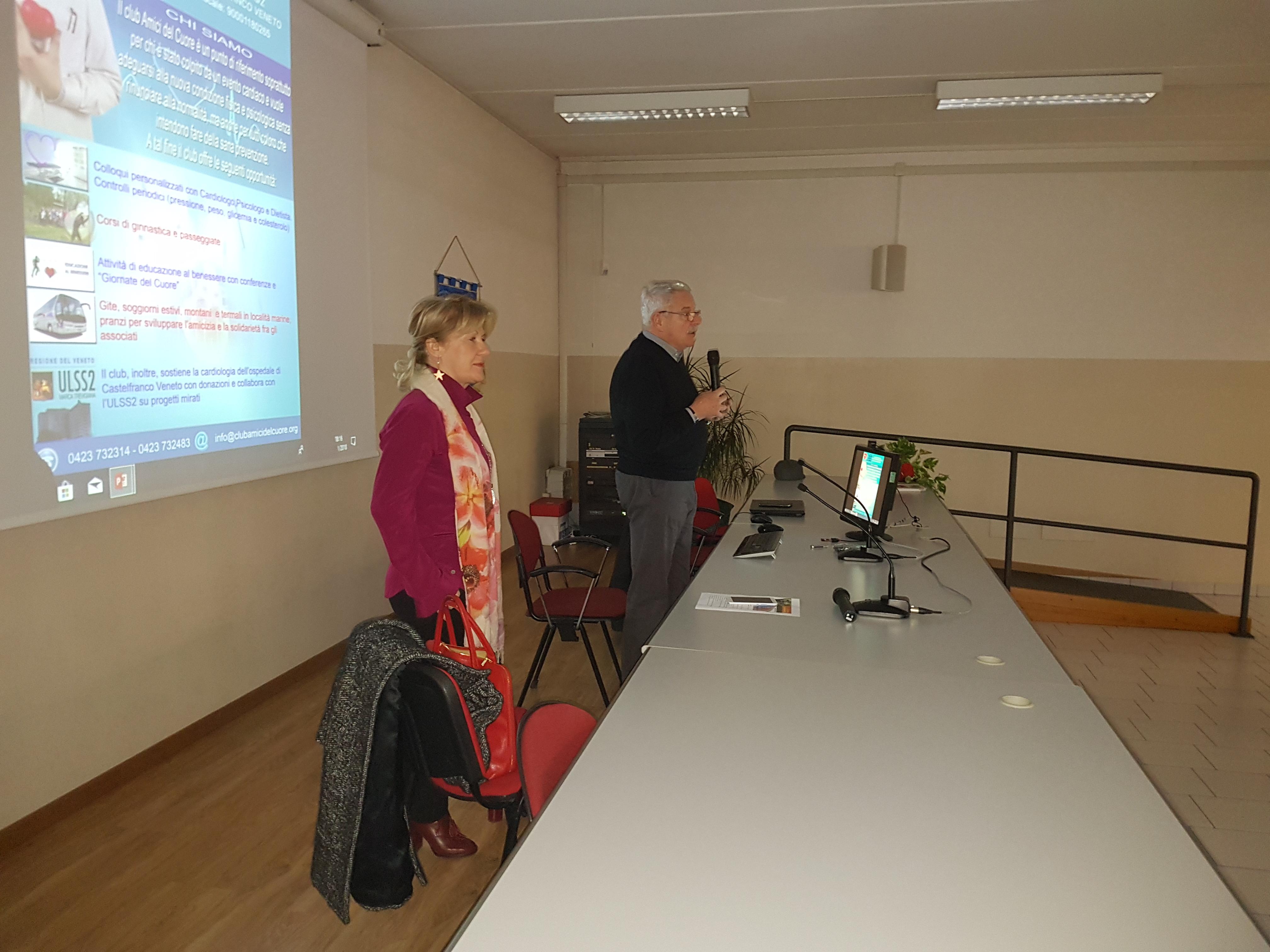 Conferenza presso l'I.T.C.G. Arturo Martini Castelfranco Veneto